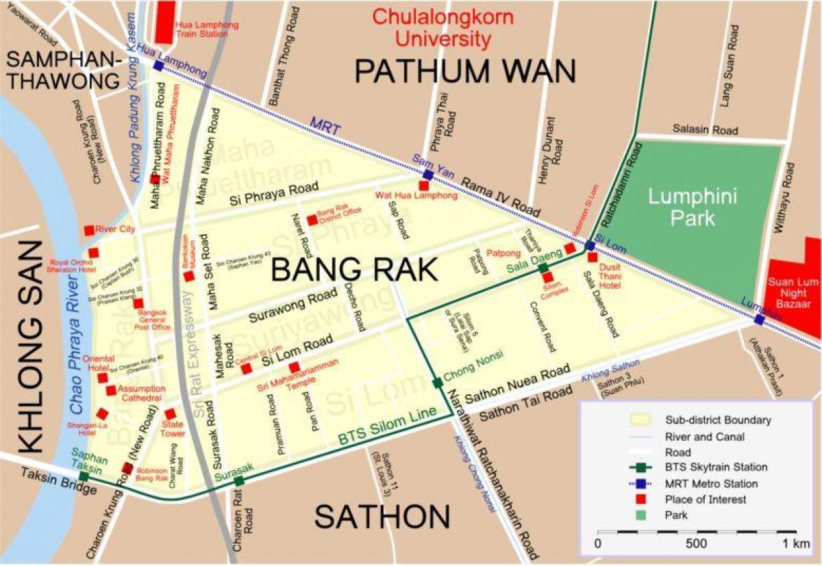 bangkok red light district map